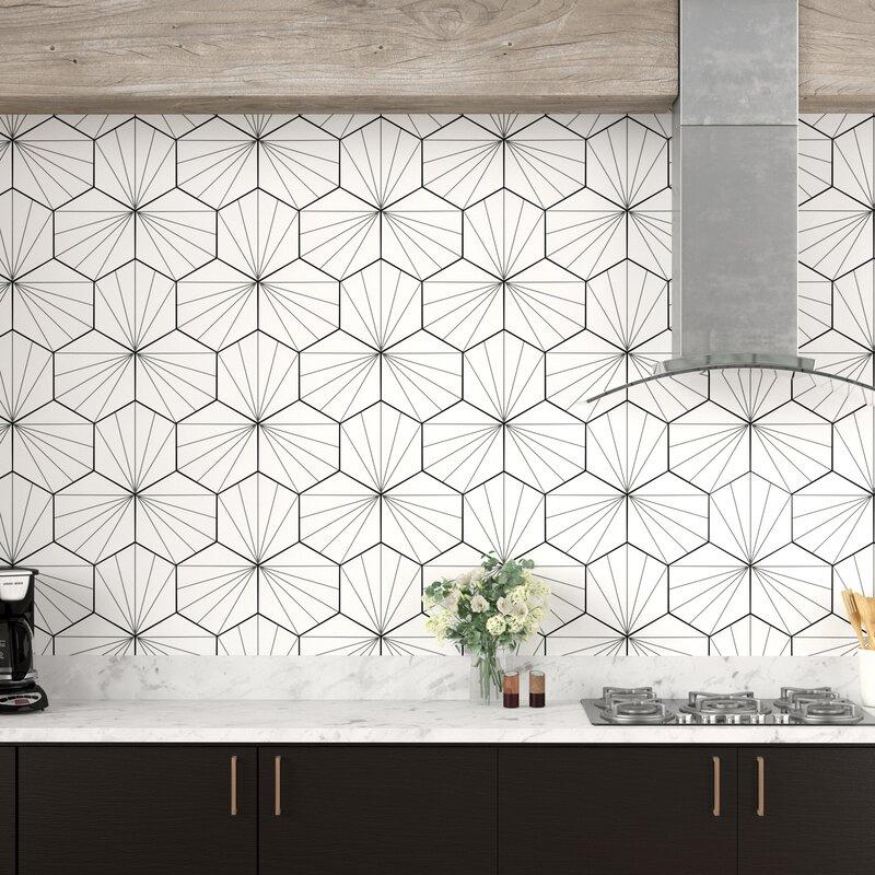 Carreau+en+porcelaine+%E0+motifs+pour+mur+et+plancher+de+9+po+x+10+po+Misha